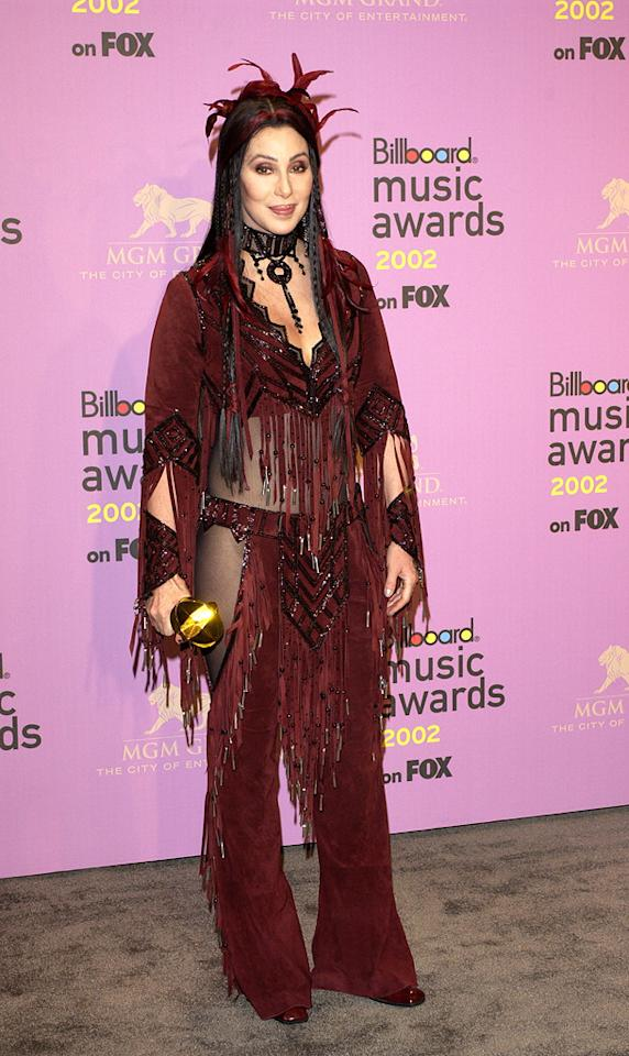 Billboard Music Awards (2002)    Fun fact: In addition to claiming the Dance/Club Play Artist of the Year trophy at the 2002 fete, Cher was also honored with the Artist Achievement Award.