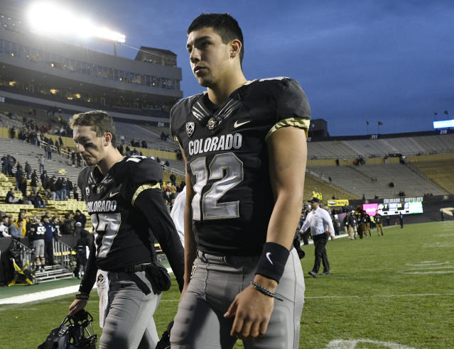There have been some lows for Colorado Buffaloes quarterback Steven Montez (12), but he's determined to make the proper changes in his final college season. (Getty Images)