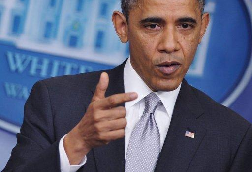 Obama demands Republicans compromise on fiscal cliff