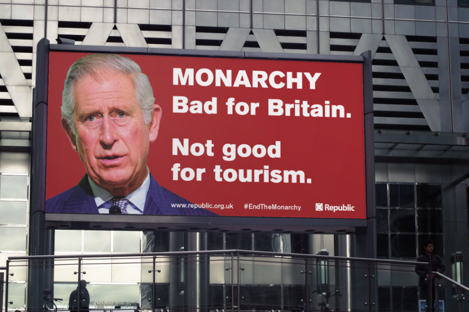 Other billboards from Republic have appeared in different parts of the UK. (Crowdfunder)