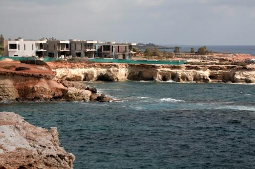 Environmentalists and residents are accusing developers of endangering the seals' habitat, by building luxury villas on top of the caves