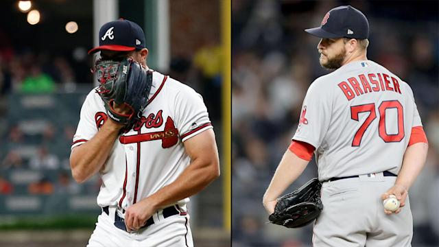 The Atlanta Braves and Boston Red Sox both lost midweek, with their pitching struggles evident.