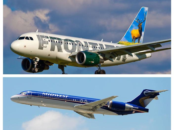 Frontier Airlines and Midwest Airlines merger