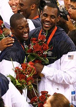 Dwyane Wade started dreaming of playing with LeBron James in the 2008 Olympics in Beijing