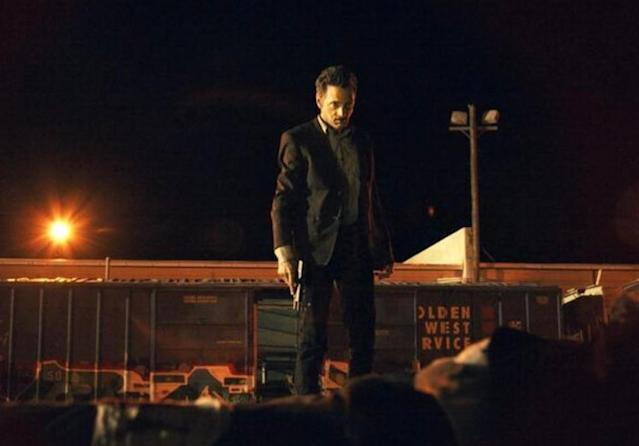 John Hawkes in <i>Small Town Crime</i>. (Photo: Saban Films)