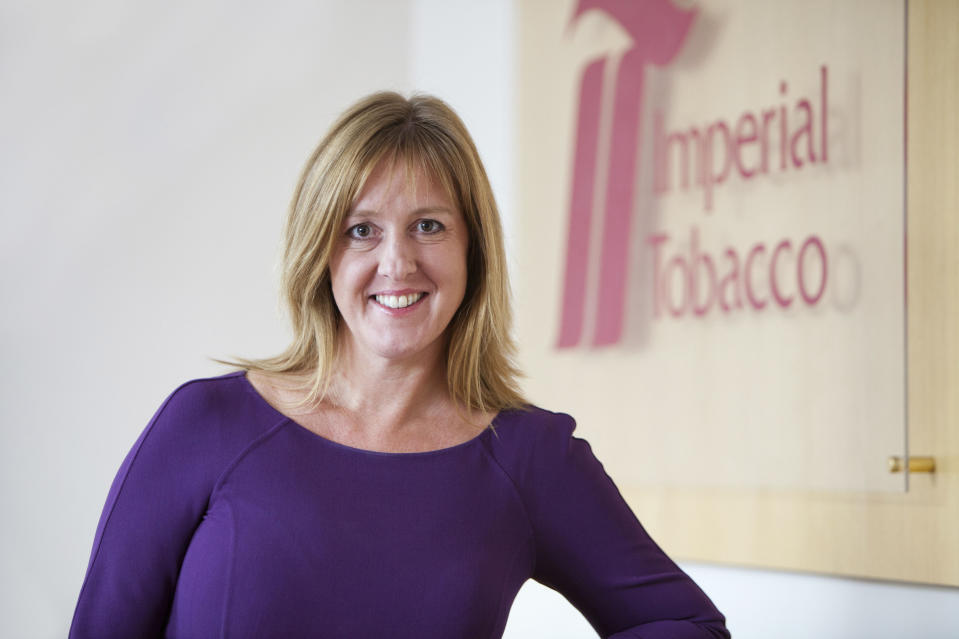 Alison Cooper, Chief Executive, Imperial Tobacco Group