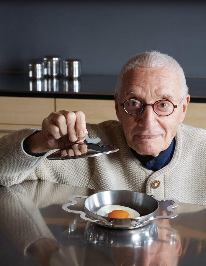 Over the years, Mendini designed many kitchen wares for the Italian company Alessi.