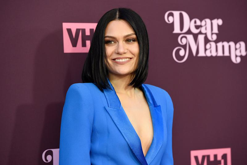"""Jessie J arrives at the 3rd annual """"Dear Mama: A Love Letter to Moms"""" at The Theatre at Ace Hotel on Thursday, May 3, 2018, in Los Angeles. (Photo by Chris Pizzello/Invision/AP)"""