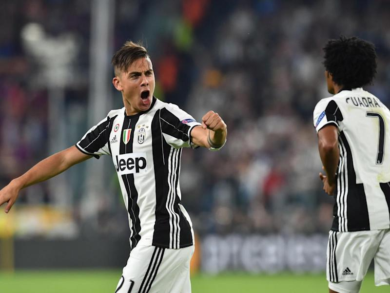 Paulo Dybala netted twice in the first leg (AFP/Getty )