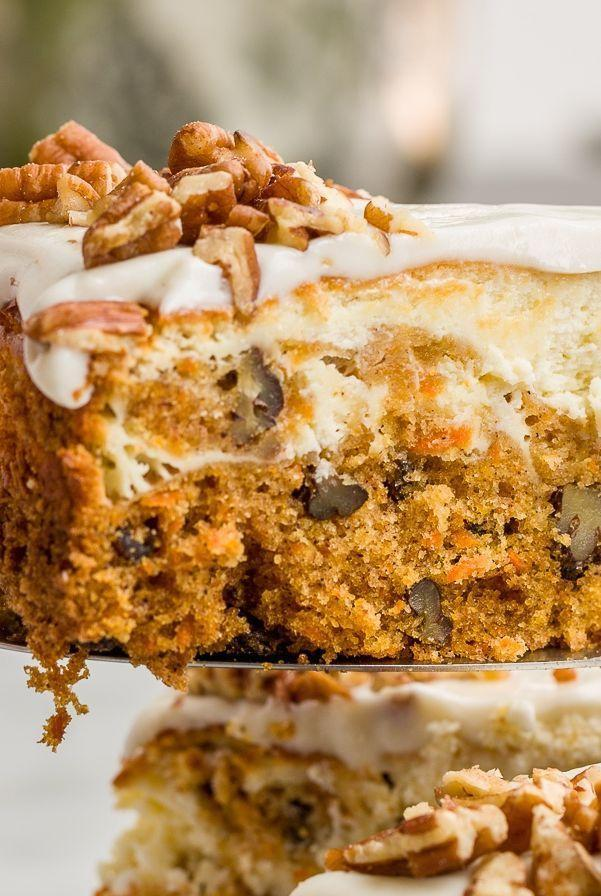 """<p>Mash-ups don't get much better than this. With <a href=""""https://www.delish.com/uk/cooking/a32063282/slow-cooker-carrot-cake/"""" rel=""""nofollow noopener"""" target=""""_blank"""" data-ylk=""""slk:classic carrot cake"""" class=""""link rapid-noclick-resp"""">classic carrot cake</a> on the bottom and rich, creamy <a href=""""https://www.delish.com/uk/cooking/recipes/g30239150/cheesecake-recipes/"""" rel=""""nofollow noopener"""" target=""""_blank"""" data-ylk=""""slk:cheesecake"""" class=""""link rapid-noclick-resp"""">cheesecake</a> on top, we can't think of a better <a href=""""https://www.delish.com/uk/cooking/recipes/g31954424/easter-cake-recipes/"""" rel=""""nofollow noopener"""" target=""""_blank"""" data-ylk=""""slk:Easter dessert"""" class=""""link rapid-noclick-resp"""">Easter dessert</a>. </p><p>Get the <a href=""""https://www.delish.com/uk/cooking/recipes/a32092148/carrot-cake-cheesecake-recipe/"""" rel=""""nofollow noopener"""" target=""""_blank"""" data-ylk=""""slk:Carrot Cake Cheesecake"""" class=""""link rapid-noclick-resp"""">Carrot Cake Cheesecake</a> recipe.</p>"""