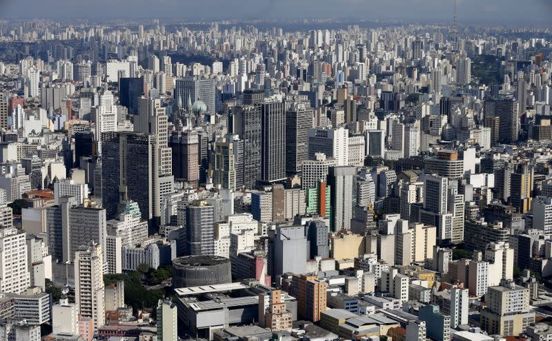 FILE PHOTO: A general view of the skyline of Sao Paulo