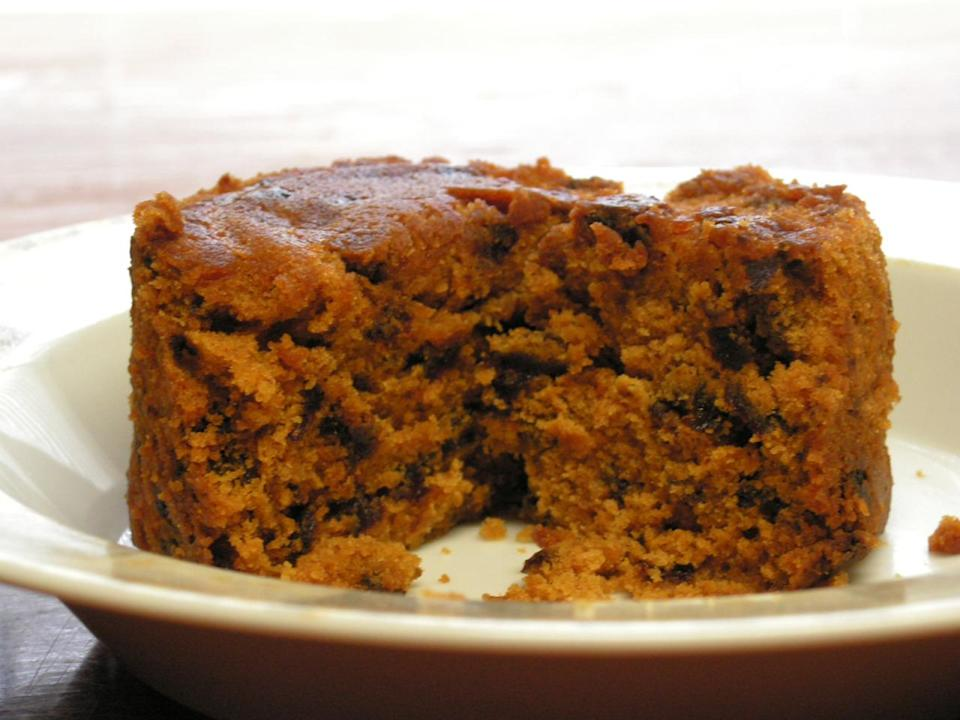 <p>Undoubtedly the rudest-sounding dish in your recipe book, Spotted Dick is pudding made with suet, raisins and currents. It dates back centuries – the earliest reference is 1849 – but that didn't stop one overly concerned council from changing the name to Spotted Richard. Flintshire County Council was apparently sick of all the jokes, so changed the name – much to the chagrin of everyone else.<i> (Credit: WikiCommons)</i></p>