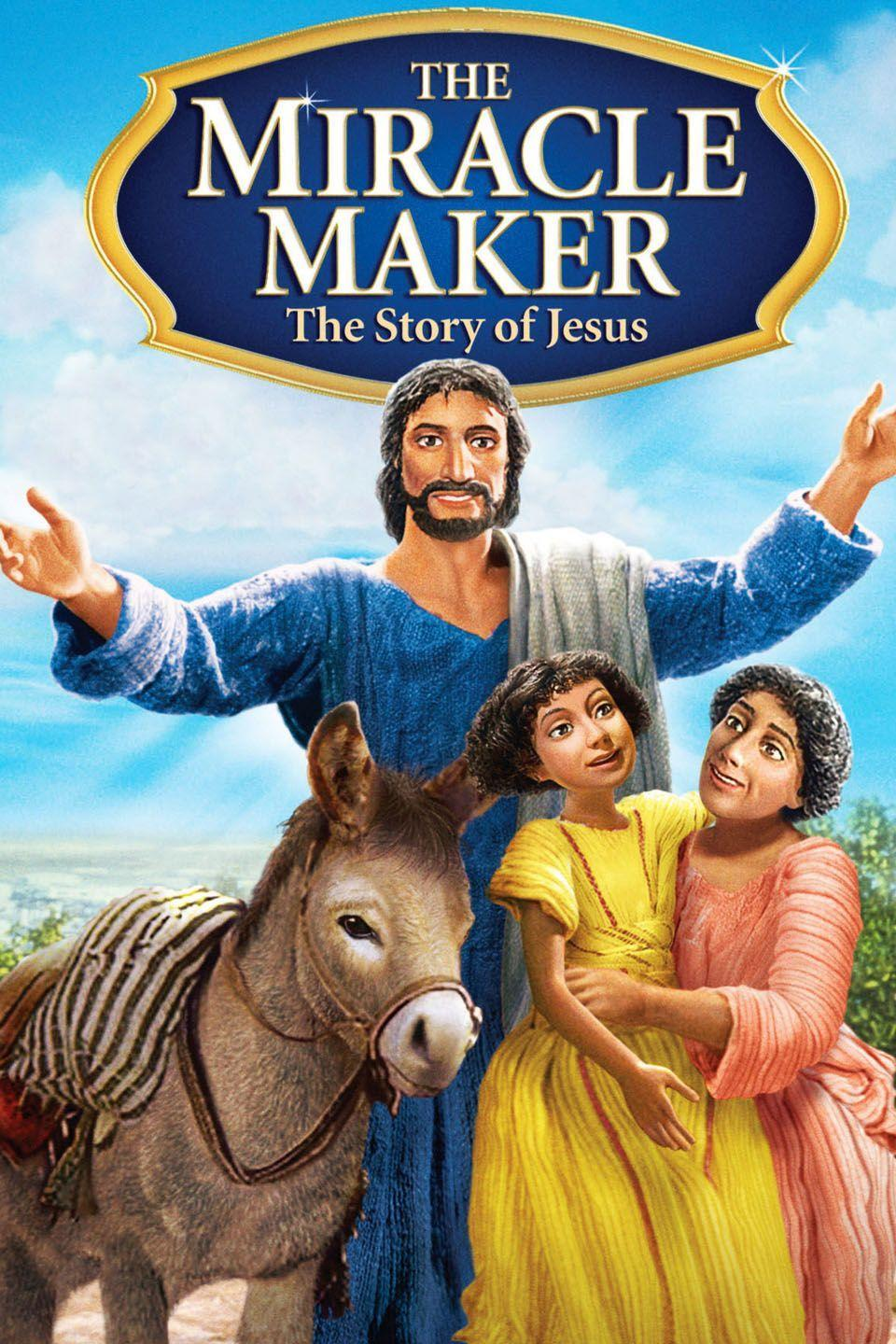 """<p>This stop-motion-animated movie portrays Jesus's many miraculous acts, as seen through the eyes of a terminally ill girl. </p><p><a class=""""link rapid-noclick-resp"""" href=""""https://www.amazon.com/Miracle-Maker-Ralph-Fiennes/dp/B06W56H9ZR?tag=syn-yahoo-20&ascsubtag=%5Bartid%7C10050.g.15928562%5Bsrc%7Cyahoo-us"""" rel=""""nofollow noopener"""" target=""""_blank"""" data-ylk=""""slk:STREAM NOW"""">STREAM NOW</a></p>"""
