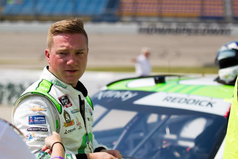 NEWTON, IA - JULY 27: NASCAR Xfinity Series driver Tyler Reddick (2) during qualifying for the NASCAR Xfinity Series US Cellular 250 on July 27, 2019, at Iowa Speedway in Newton, Iowa. (Photo by Kyle Ocker/Icon Sportswire via Getty Images)