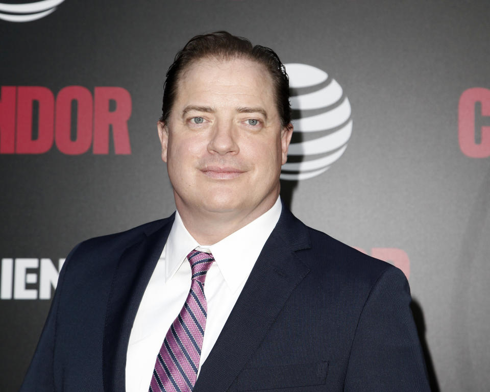 LOS ANGELES, CA - JUNE 06:  Brendan Fraser attends the premiere of AT&T Audience Network's 'Condor' at NeueHouse Hollywood on June 6, 2018 in Los Angeles, California.  (Photo by Tibrina Hobson/Getty Images)