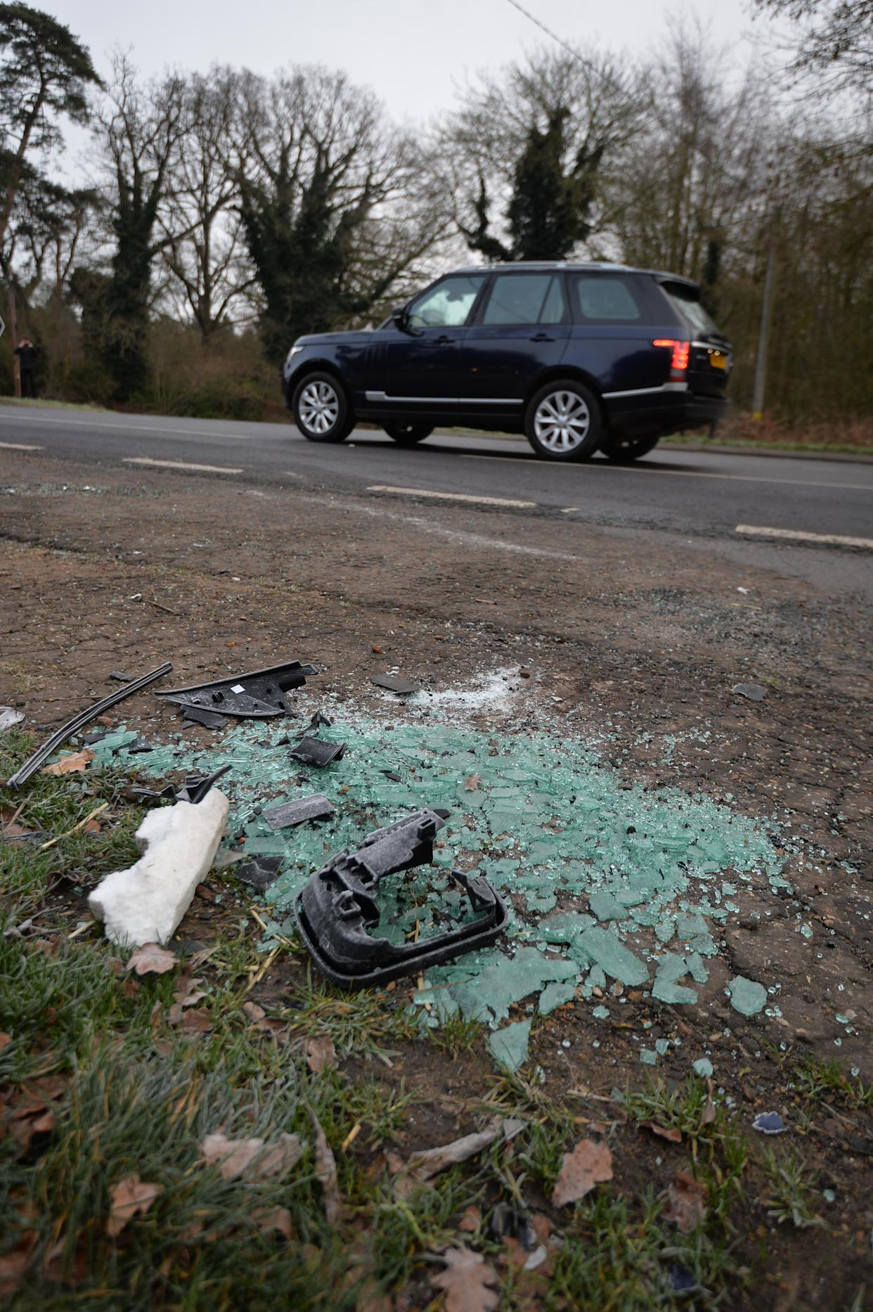 Speed cameras in place at site of Prince Philip's car crash