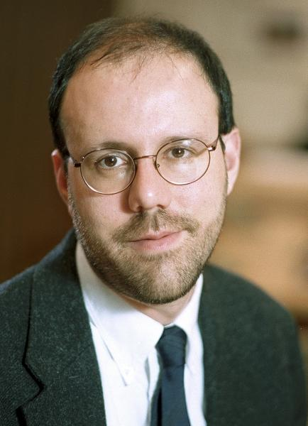 This undated photo provided by Harvard University shows Michael Kremer, professor of economics at the college in Cambridge, Mass., who was awarded 2019 Nobel Prize in economics along with Abhijit Banerjee and Esther Duflo Monday , Oct. 14, 2019, for pioneering new ways to alleviate global poverty. (Jon Chase/Harvard University News Office via AP)