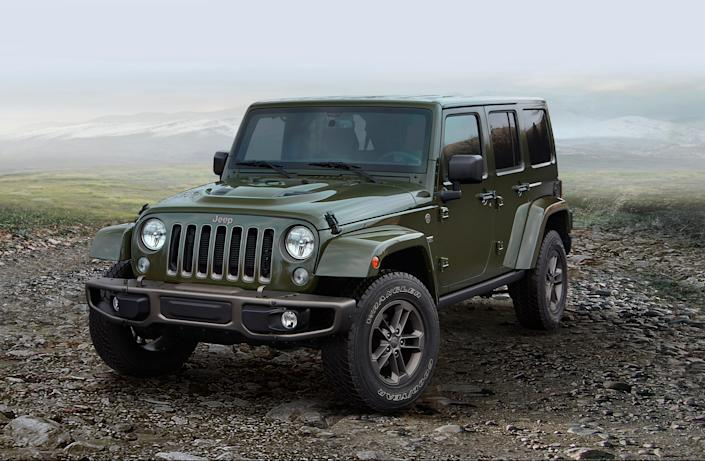 Jeep Wrangler Unlimited.