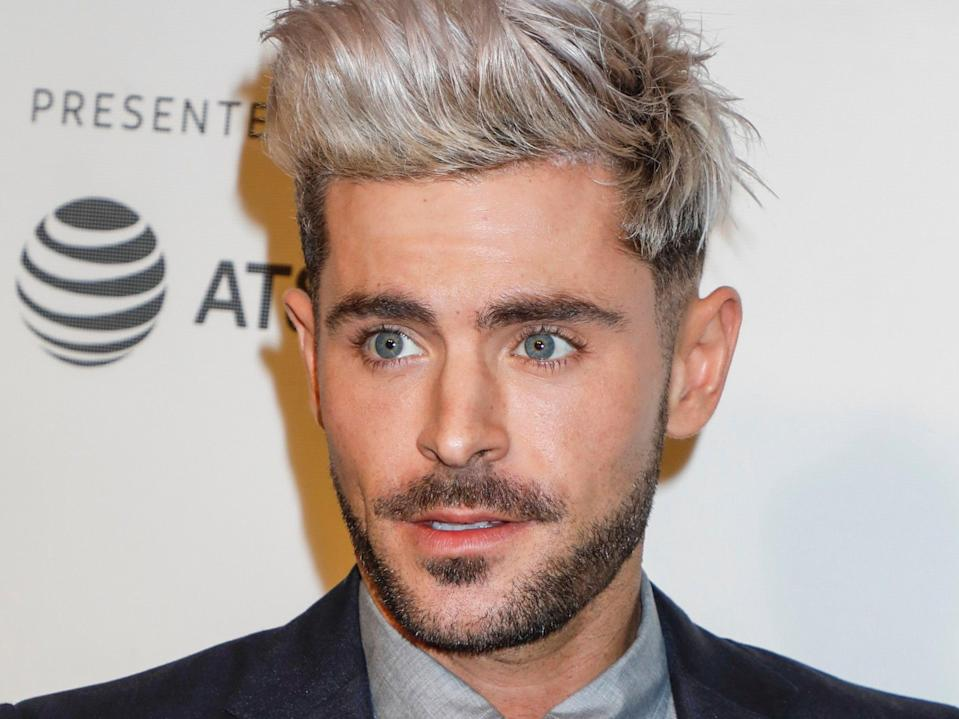Zac Efron (Gregory Pace/Shutterstock)