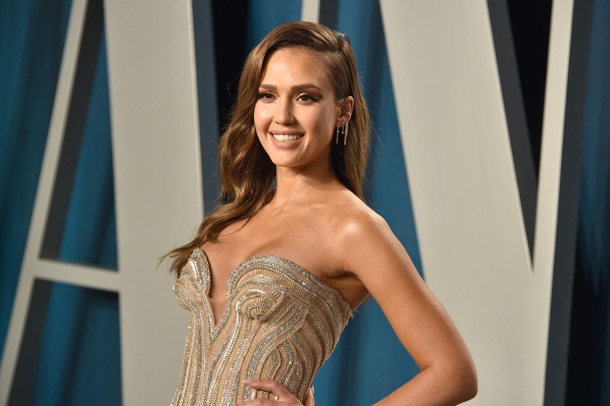 Jessica Alba says she uses spy cameras to keep an eye on her daughters during distance learning