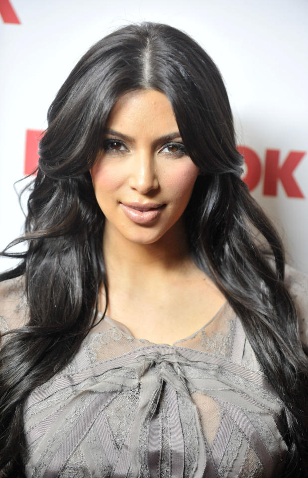 WEST HOLLYWOOD, CA - APRIL 11: Kim Kardashian poses for a picture as Redbook celebrates first ever family issue with the Kardashians held at The Sunset Tower Hotel on April 11, 2011 in West Hollywood, California. (Photo by Toby Canham/Getty Images)