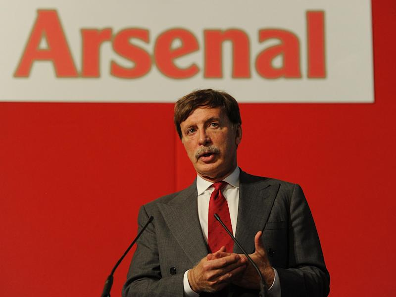 Kroenke is under pressure from angry Arsenal fans: Getty