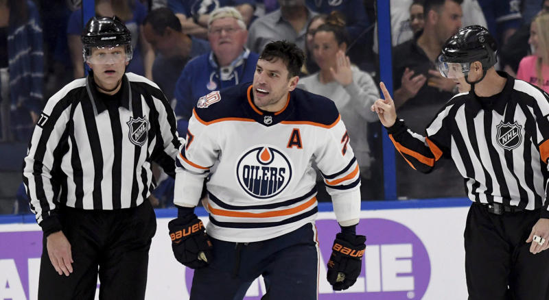 Lucic wore out his welcome in Edmonton. (AP Photo/Jason Behnken)