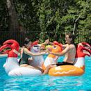 <p>This <span>SCS Direct Chicken Fight Inflatable Pool Float Game Set</span> ($70) looks like so much fun.</p>