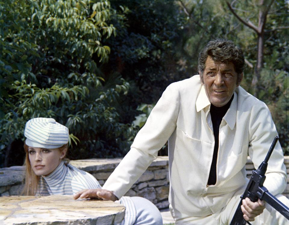 Sharon Tate starred alongside Dean Martin in 'The Wrecking Crew' (Photo: Courtesy Everett Collection)