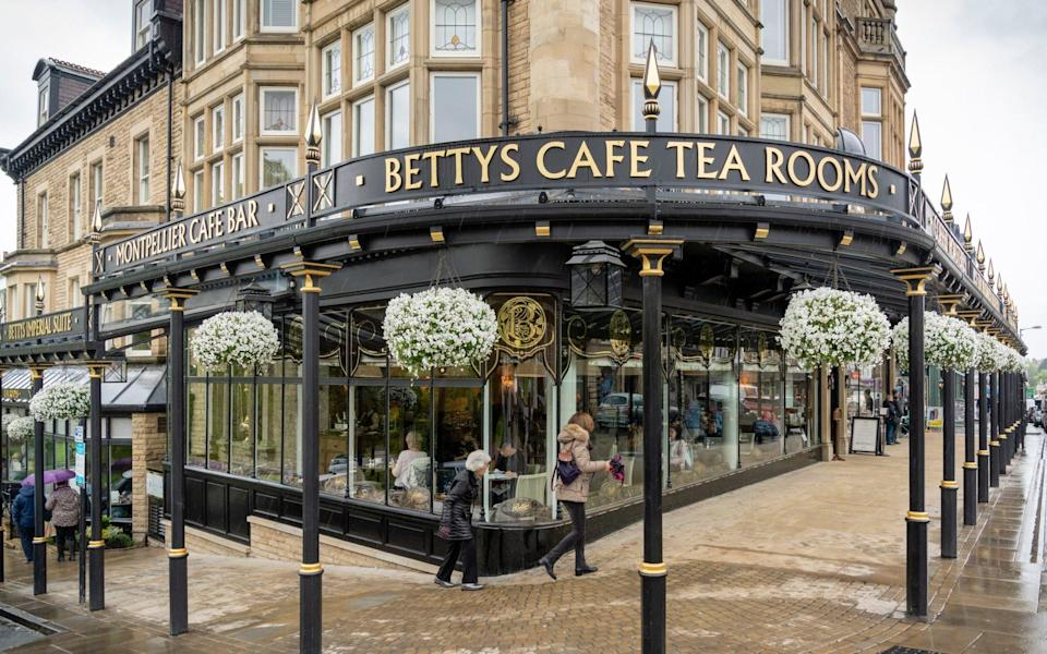 The infamous Betty's Tea Rooms in Harrogate - Andrew Crowley