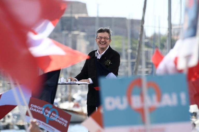 French Communist-backed candidate Jean-Luc Melenchon has shaken up the presidential election race