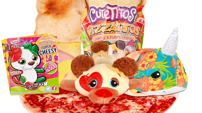 Gifts for kids: Cutetitos Pizzaitos