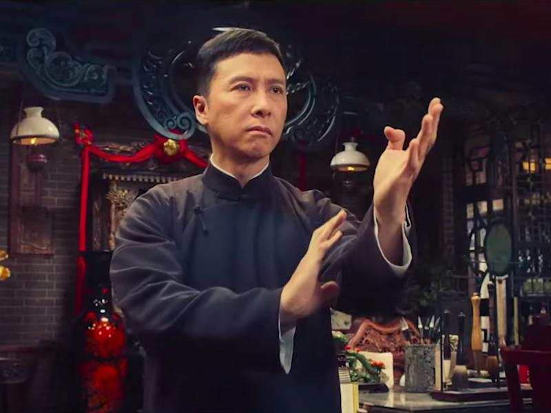 """Donnie Yen's final """"Ip Man"""" movie set a new record at the local box office."""