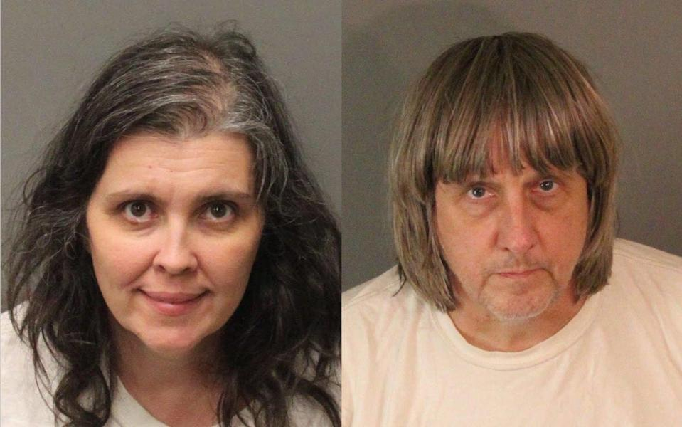 The couple face charges of torture (Picture: Riverside County Sheriff's Department)