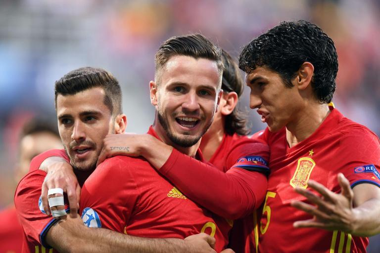 Portugal U21s 1 Spain U21s 3: Arsenal's Hector Bellerin gets an assist in European Championship victory