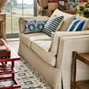 """<p>Classic cream was not as highly sought-after as one might expect. A brilliant neutral base from which to build, with warm undertones that invite richly patterned textiles, colourful accessories, and reddish woods. </p><p>Pictured: <a href=""""https://go.redirectingat.com?id=127X1599956&url=https%3A%2F%2Fwww.oka.com%2Fproduct%2Faubourn-3-seater-sofa-natural%2F&sref=https%3A%2F%2Fwww.countryliving.com%2Fuk%2Fhomes-interiors%2Finteriors%2Fg37335592%2Fmost-popular-sofa-colours%2F"""" rel=""""nofollow noopener"""" target=""""_blank"""" data-ylk=""""slk:Aubourn 3 Seater Sofa at OKA"""" class=""""link rapid-noclick-resp"""">Aubourn 3 Seater Sofa at OKA</a></p>"""