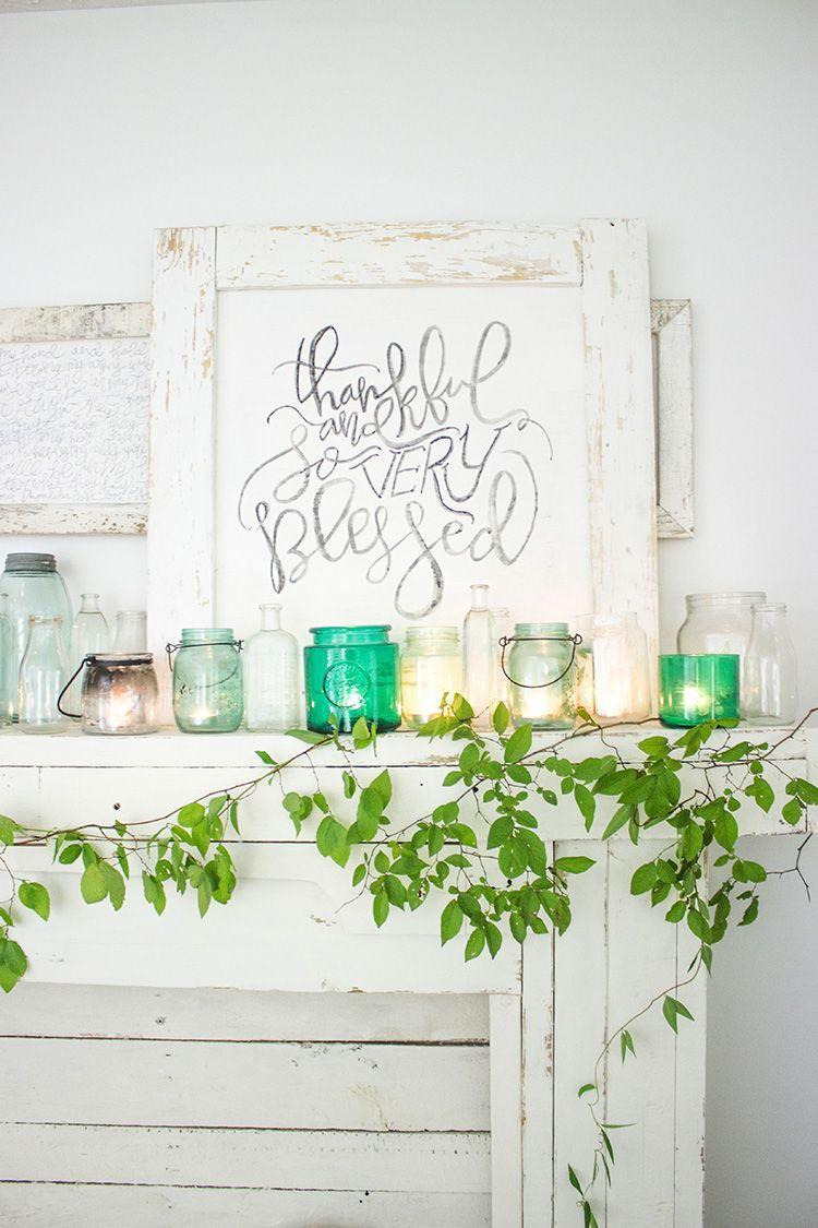 """<p>Here's a project that's perfect for beginner and expert level crafters alike. Prop this DIY sign up on your mantel, use it to liven up a guest room, or frame it on your kitchen wall to inspire your cooking on Thanksgiving.</p><p><strong>Get the tutorial at <a href=""""https://welivedhappilyeverafter.com/thankful-and-so-very-blessed-free-printable/"""" rel=""""nofollow noopener"""" target=""""_blank"""" data-ylk=""""slk:We Lived Happily Ever After"""" class=""""link rapid-noclick-resp"""">We Lived Happily Ever After</a>.</strong></p><p><strong><a class=""""link rapid-noclick-resp"""" href=""""https://www.amazon.com/DII-Rustic-Farmhouse-Distressed-Picture/dp/B076MFNQ3F?tag=syn-yahoo-20&ascsubtag=%5Bartid%7C10050.g.1371%5Bsrc%7Cyahoo-us"""" rel=""""nofollow noopener"""" target=""""_blank"""" data-ylk=""""slk:SHOP DISTRESSED FRAMES"""">SHOP DISTRESSED FRAMES</a><br></strong></p>"""
