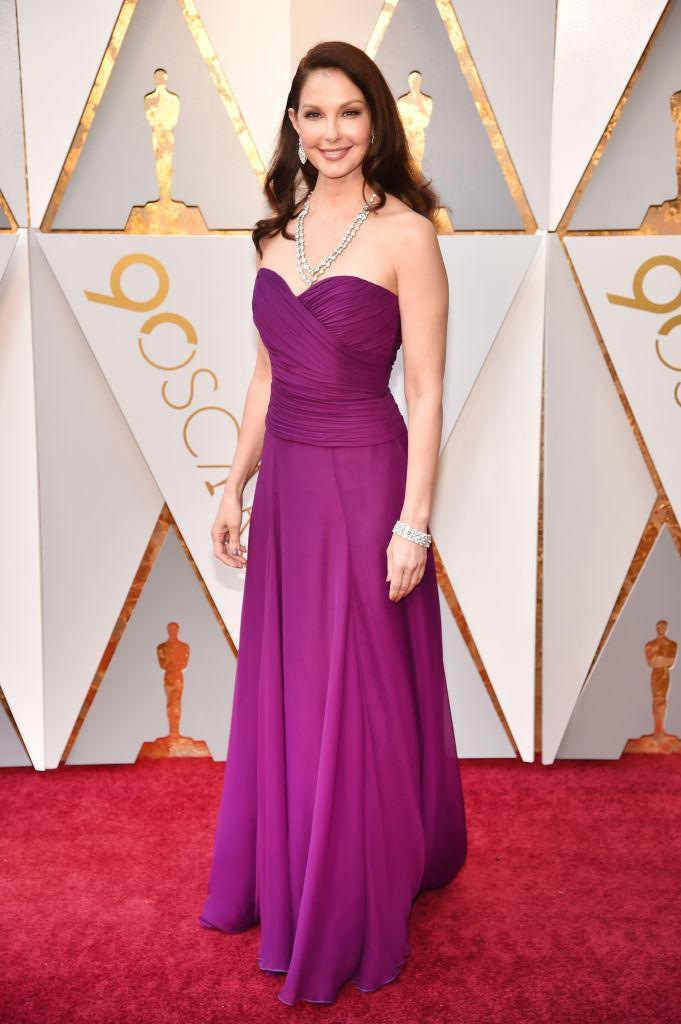 <p>Ashley Judd attends the 90th Academy Awards in Hollywood, Calif., March 4, 2018. (Photo: Getty Images) </p>