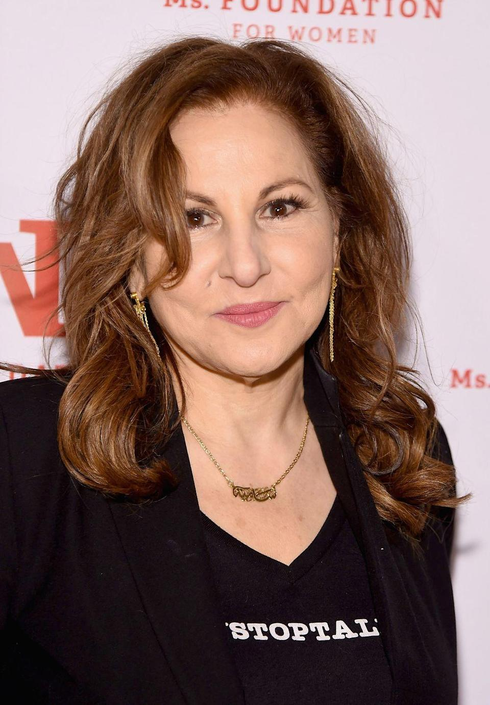 "<p>In the new millennium, Kathy began taking on roles behind the camera, as well. In 2012, she worked on the film <em>These Girls. </em>Four years later, she served as a consulting producer for the TV series <em>The Jamz</em>. Her latest roles to date include acting as Wendy Keegan in <em><a href=""https://www.amazon.com/Fundraiser/dp/B00BS4N946/ref=sr_1_2?keywords=veep&qid=1560191486&s=gateway&sr=8-2&tag=syn-yahoo-20&ascsubtag=%5Bartid%7C2140.g.34318089%5Bsrc%7Cyahoo-us"" rel=""nofollow noopener"" target=""_blank"" data-ylk=""slk:Veep"" class=""link rapid-noclick-resp"">Veep </a></em>and Judge Gayle Eno in <em><a href=""https://www.amazon.com/Inauguration/dp/B075DHY17H/ref=sr_1_2?keywords=The+Good+Fight&qid=1560191507&s=gateway&sr=8-2&tag=syn-yahoo-20&ascsubtag=%5Bartid%7C2140.g.34318089%5Bsrc%7Cyahoo-us"" rel=""nofollow noopener"" target=""_blank"" data-ylk=""slk:The Good Fight"" class=""link rapid-noclick-resp"">The Good Fight</a></em>. In 1998, she married singer and actor Dan Finnerty. </p>"