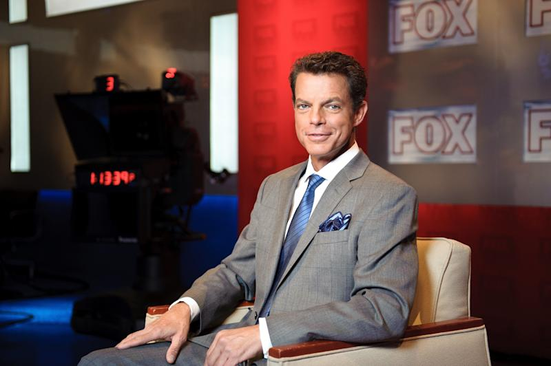 NEW YORK, NY - OCTOBER 10: Fox News anchor Shepard Smith on the set of 'Studio B with Shepard Smith' at Fox News studios in New York. Fox News Channel celebrated its 15th anniversary on the air on October 7th.