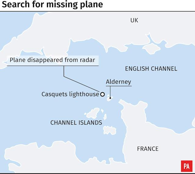 The search resumed on Wednesday morning in coastal areas around Alderney and off-lying rocks and islands.