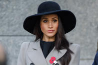 <p>Markle attended a wreath-laying service at dawn to honour New Zealand and Australian soldiers who served during WWI. </p>
