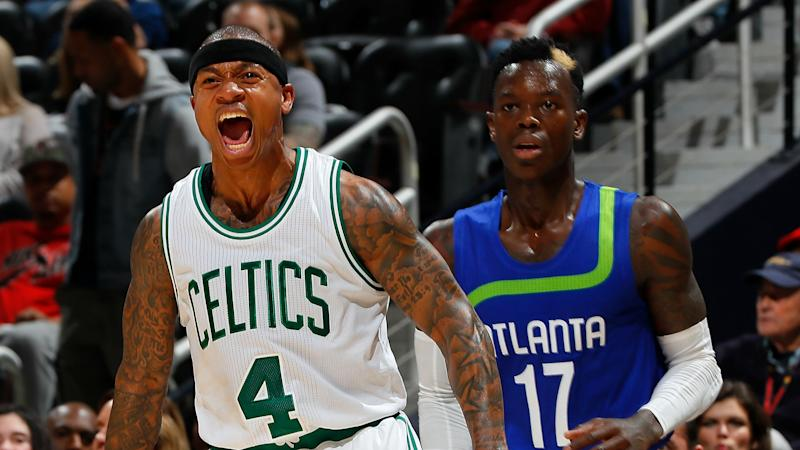 Dennis Schroder puts aside feud, offers condolences to Isaiah Thomas