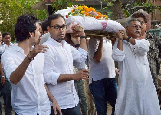 Jagdish Mali laid to rest
