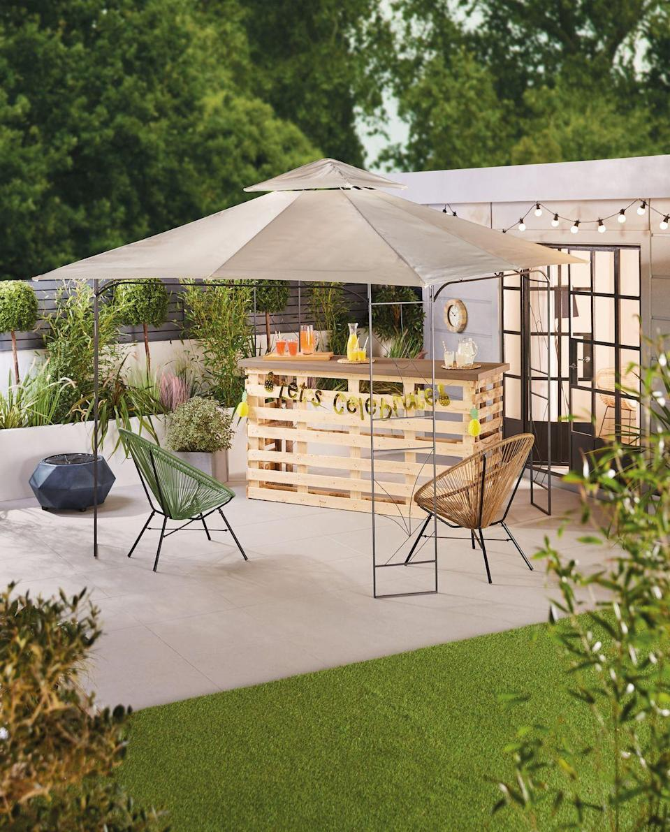 """<p>Keep the drinks flowing with Aldi's alfresco essentials. From a must-have bar to practical parasols, you'll find everything you need to host the ultimate garden get-together. </p><p><a class=""""link rapid-noclick-resp"""" href=""""https://www.aldi.co.uk/c/specialbuys/garden-shop"""" rel=""""nofollow noopener"""" target=""""_blank"""" data-ylk=""""slk:SHOP NOW"""">SHOP NOW</a></p>"""