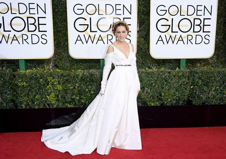 Evan Rachel Wood revamps Golden Globes dress code