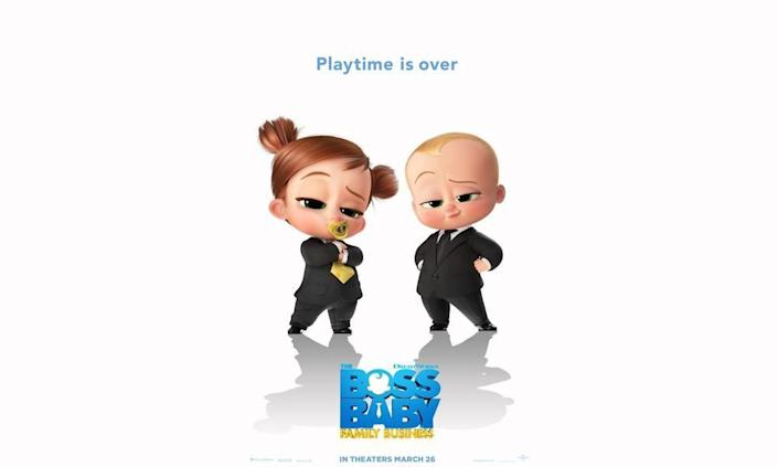 """<p><strong>Release Date:</strong> September 17, 2021</p><p>If your kids are fans of the first <em><a href=""""https://www.amazon.com/Boss-Baby-Alec-Baldwin/dp/B079J6S81Q?tag=syn-yahoo-20&ascsubtag=%5Bartid%7C10055.g.34838622%5Bsrc%7Cyahoo-us"""" rel=""""nofollow noopener"""" target=""""_blank"""" data-ylk=""""slk:Boss Baby"""" class=""""link rapid-noclick-resp"""">Boss Baby</a></em> movie or the <em><a href=""""https://www.netflix.com/title/80178943"""" rel=""""nofollow noopener"""" target=""""_blank"""" data-ylk=""""slk:Boss Baby: Back in Business"""" class=""""link rapid-noclick-resp"""">Boss Baby: Back in Business</a></em> series on Netflix, they'll be happy to know there's another bundle on the way. This time, Tim and Ted are grown-ups who — at the behest of Tim's infant daughter — have to turn back into babies to help stop an evil villain.</p><p><a class=""""link rapid-noclick-resp"""" href=""""https://youtu.be/QPzy8Ckza08"""" rel=""""nofollow noopener"""" target=""""_blank"""" data-ylk=""""slk:WATCH TRAILER"""">WATCH TRAILER</a></p>"""