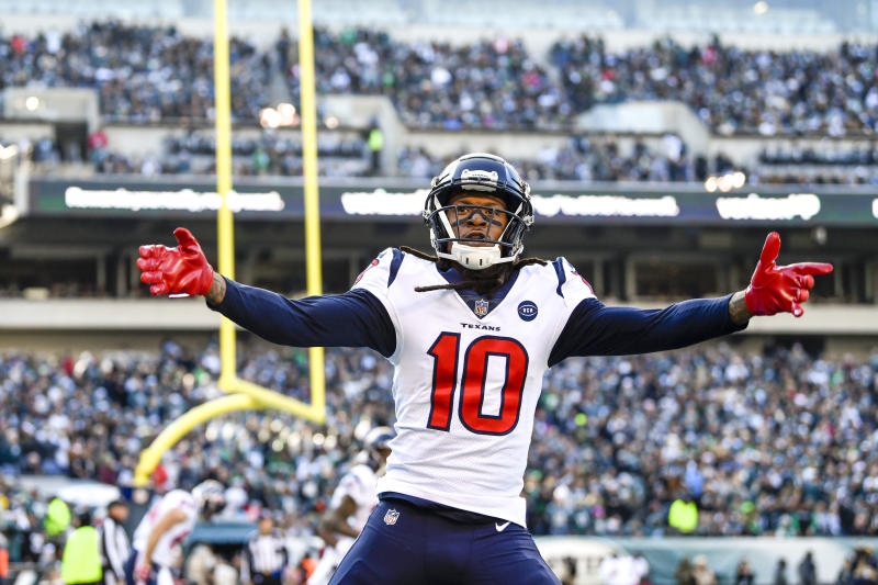 Former Houston Texans wide receiver DeAndre Hopkins (10) will have a huge impact with the Cardinals. (Photo by Gavin Baker/Icon Sportswire via Getty Images)