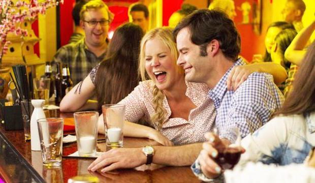 <p> Having been taught from a young age that monogamy isn't realistic, magazine writer Amy (Amy Schumer) lives a life free from romantic commitment. That is until she finds herself falling for the subject of a new article she's writing, sports doctor Aaron (Bill Hader). </p> <p> Though it ends up being a lot more conventional than its set-up suggests, the winning central pairing of Schumer and Hader ensures that even classic tropes feel fresh. A consistently funny and genuinely affecting modern romcom that also delivers the most awkward cheerleader routine ever and a practically unrecognisable Tilda Swinton as Amy's barmy editor. </p>
