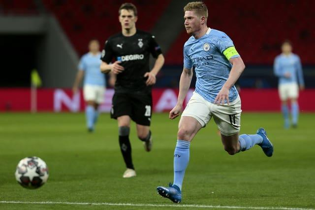 Kevin De Bruyne was in fine form for Manchester City
